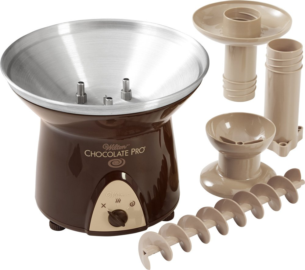 Amazon.com: Wilton Chocolate Pro 3-Tier Chocolate Fountain, 2104 ...
