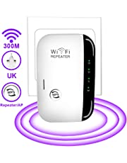 USBNOVEL WiFi Expander Booster - Mini WiFi Range Extender,Wifi Blast Wireless Repeater N300 for range extender broadband Wi-Fi booster/expander/repeater access point with 2.4GHz Fast Ethernet port