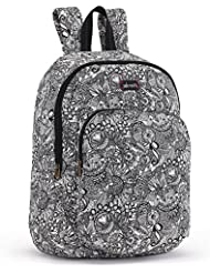 Sakroots-Artist Circle Medium Backpack Black-Black