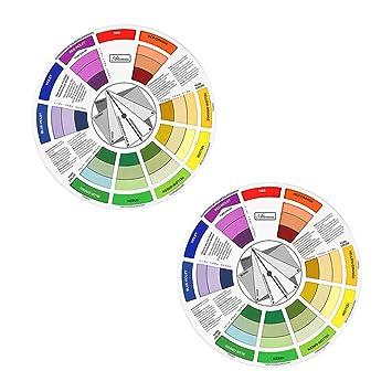 Amazon Sm Sunnimix 2x Artists Color Wheel Paint Color Mixing