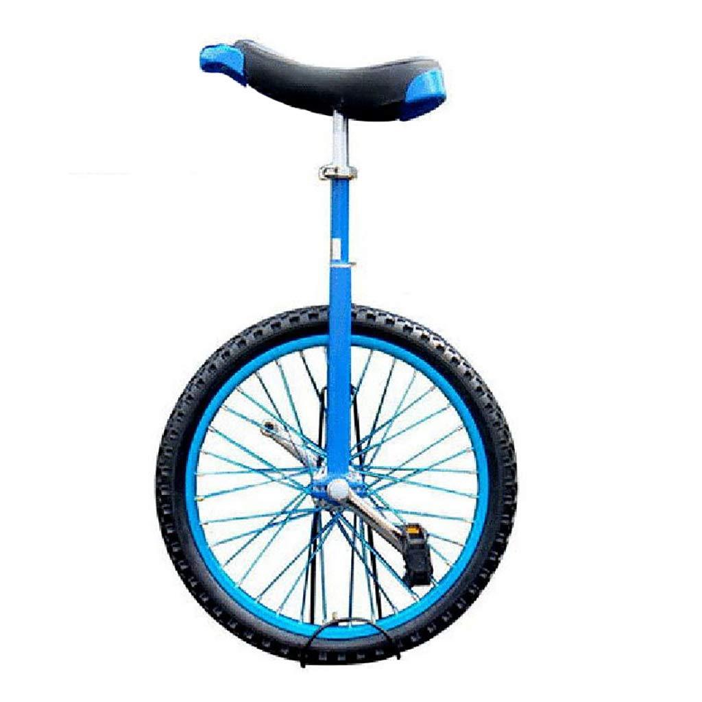 当店だけの限定モデル フリースタイル一輪車シングルラウンド子供の大人の調節可能な身長のバランスサイクリング運動16 さいず/18/20インチブルー (サイズ さいず : 16 inch) inch) : 16 inch B07PPNVW6W, Luty:8b46423b --- newfinres.com