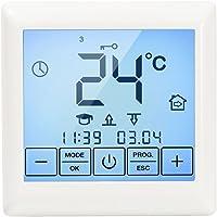 Cálida on regulador de temperatura con pantalla táctil