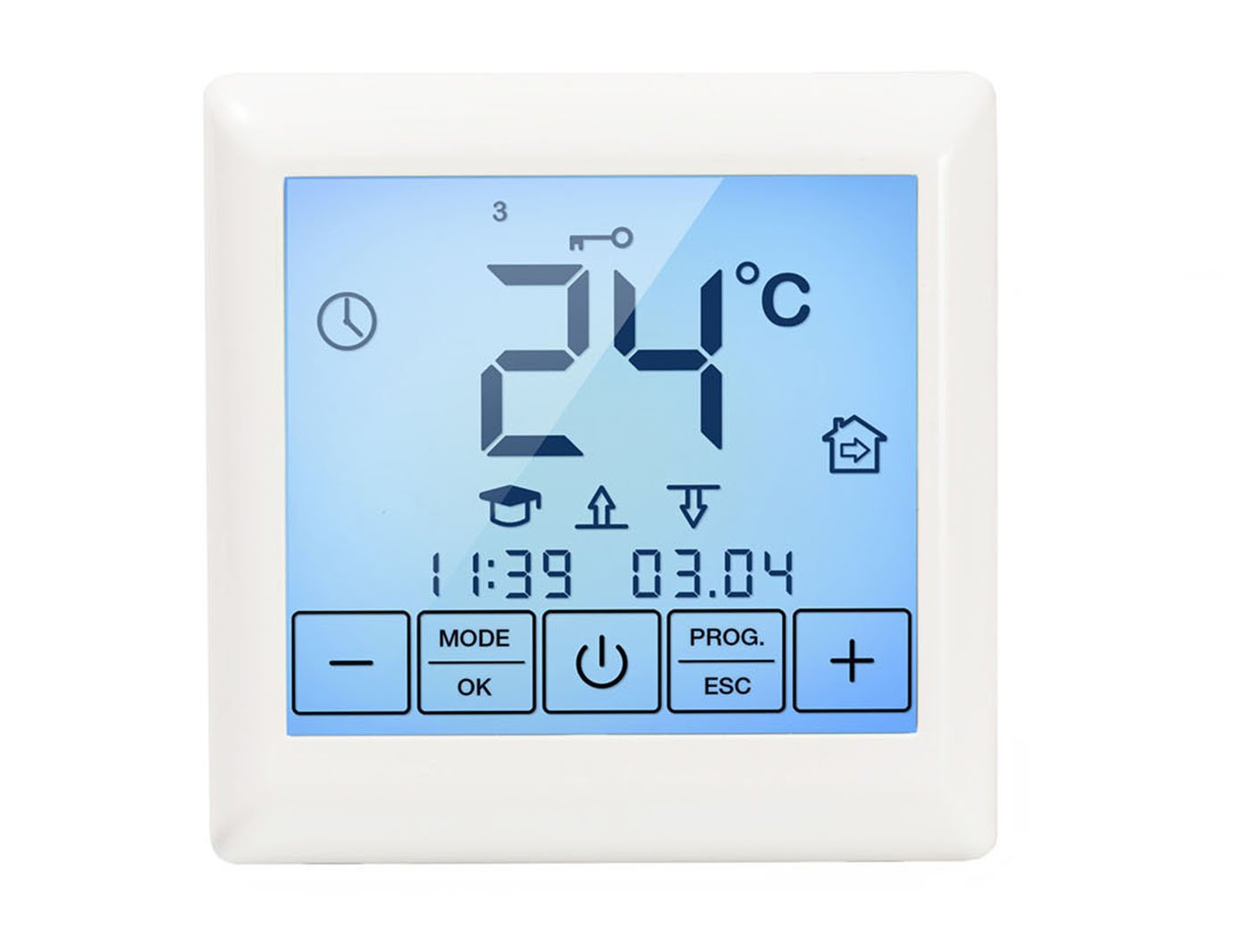 Warm-On Digital Thermostat with Touchscreen Display SE200 AM208005