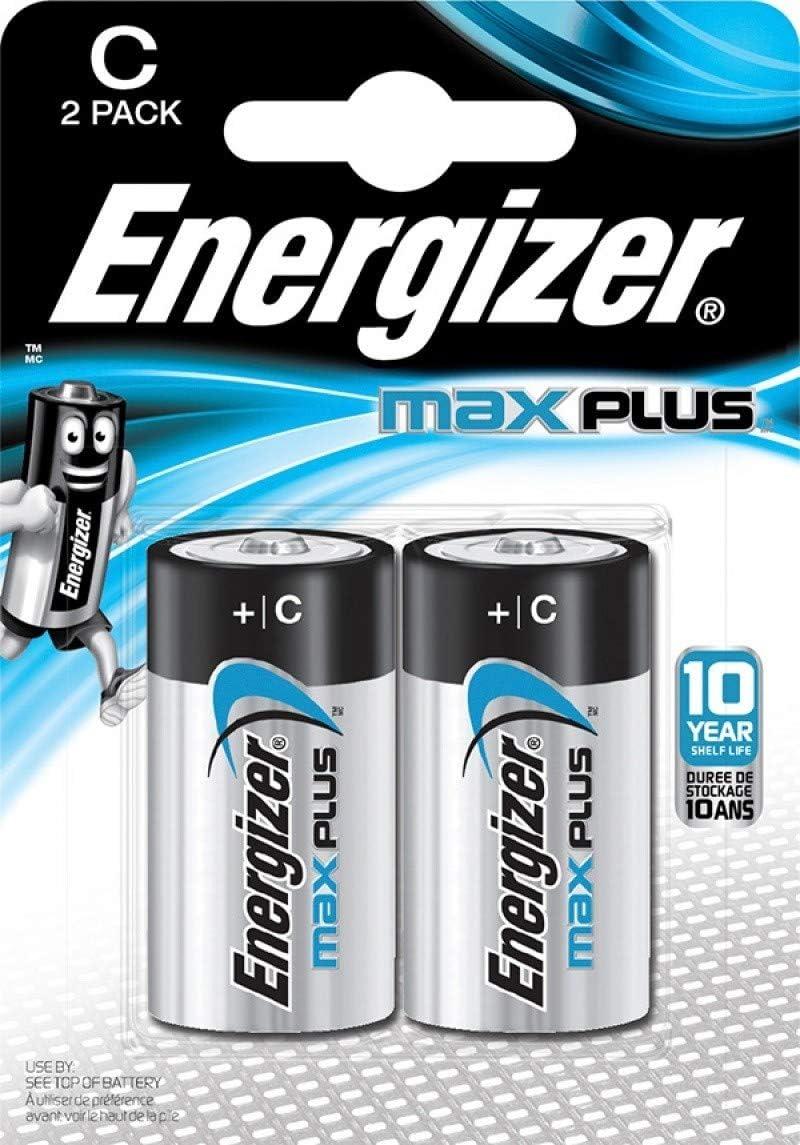 Energizer E301324200 Max Plus Baby 2 Stück Chrom Elektronik
