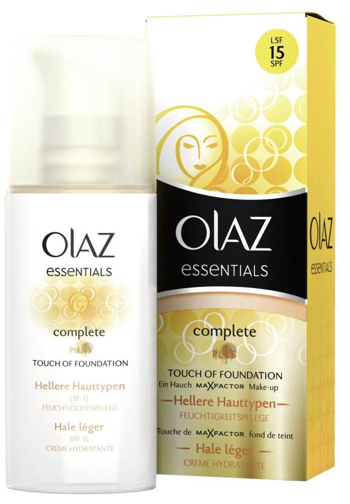 Olaz Complete Bb Cream Touch Of Foundation Mit Lsf 15 Hellere