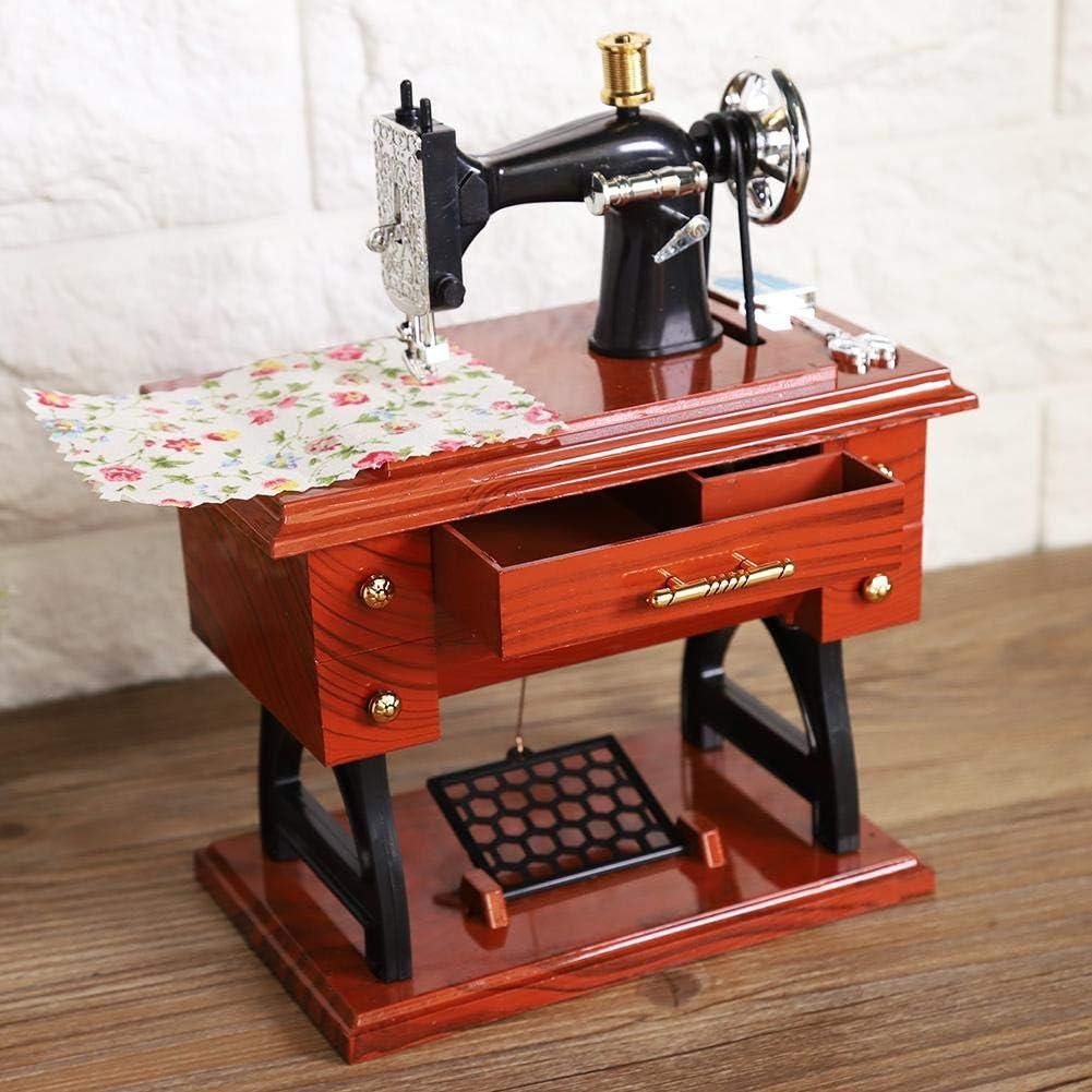 Carillon macchina da cucire stile Carillon Collection Anniversario Regalo di compleanno Decorazioni da tavola