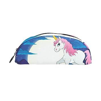 COOSUN - Estuche para lápices de unicornio, color rosa