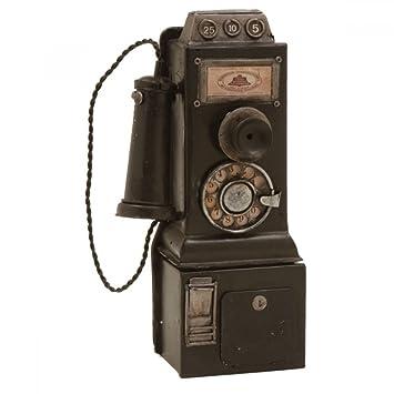 efc05ee9a74 Telefone Antigo - 24 x 11 cm Objeto Decorativo de Metal  Amazon.com ...