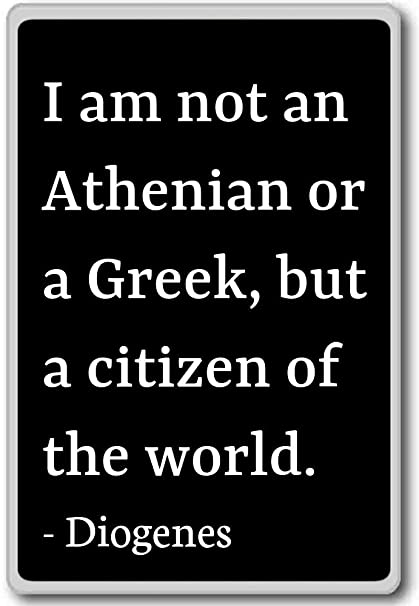 Amazoncom I Am Not An Athenian Or A Greek But A Citizen Of