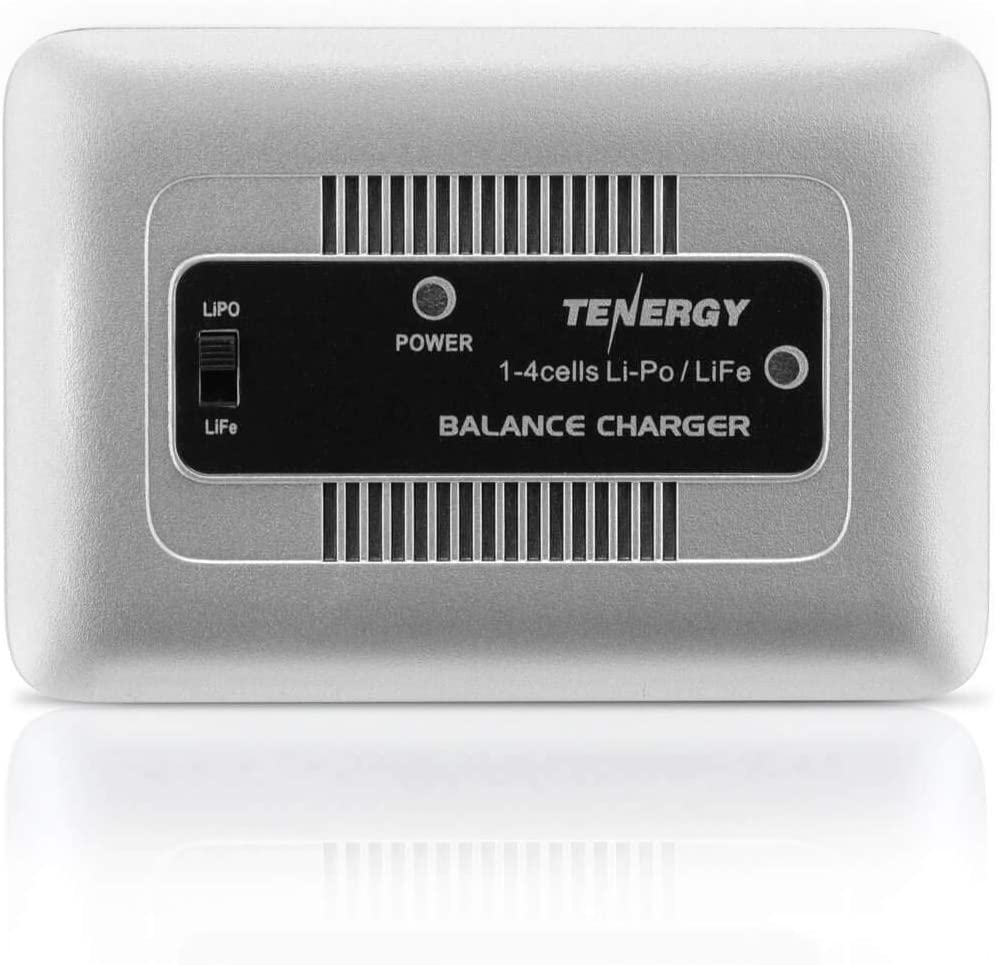 Tenergy TN267 1-4 Cells Li-Po/Li-Fe Balance Charger for Airsoft & RC Car Battery Packs with 1S to 4S XH Type Balance Connector