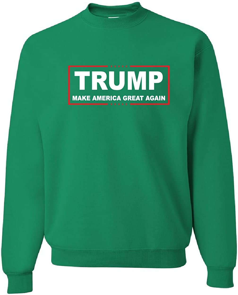 Tee Hunt Trump Crew Neck Sweatshirt Make America Great Again