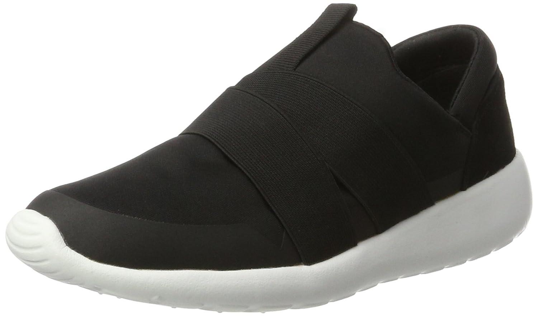 Bianco Slip In Sneaker 32-49170, Zapatillas para Mujer 38 EU Negro (Black)