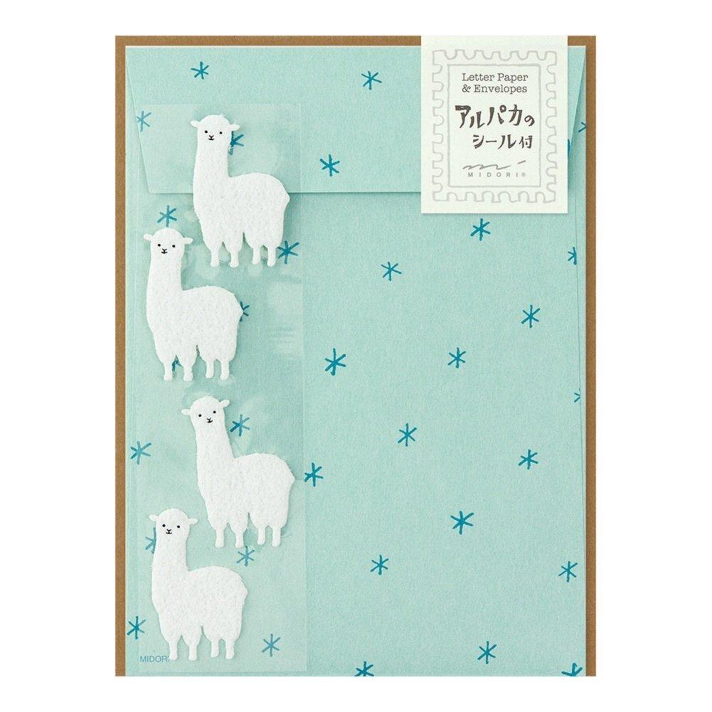 Midori Alpaca Letter Writing Set by Midori 86367006