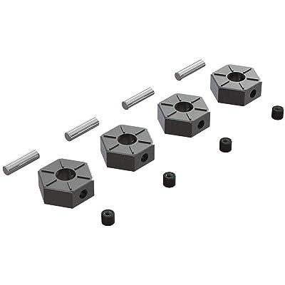 ARRMA Wheel Hex Metal 12mm (4), ARAC9473: Toys & Games