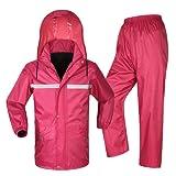 Outdoor peak imperméable veste de pluie pantalon vêtement de pêche doublé unisexe
