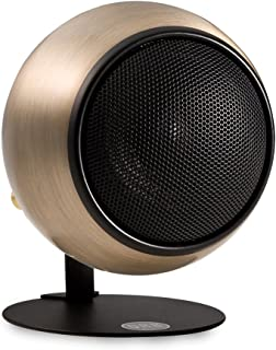 product image for Orb Audio Mod1 Stereo and TV Speaker, Single Pack with mod2 Upgrade Hardware - Hand Antiqued Bronze