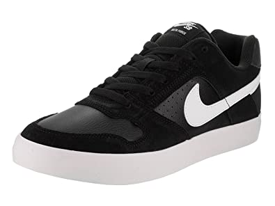 brand new e453e 99910 Nike Mens SB Delta Force Vulc Black Sneakers ...