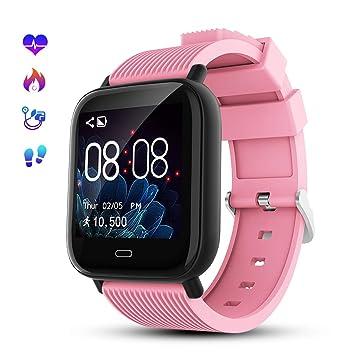 GOKOO Smartwatch Deporte para Hombre Mujer Impermeable Reloj ...