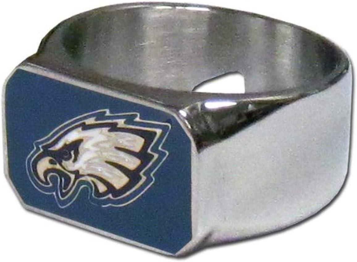 NFL Mens Steel Bottle Opener Ring Size 10