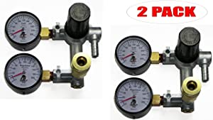 Dewalt D55168 Compressor Replacement OEM Air Regulator (2 Pack) # N030566-2pk