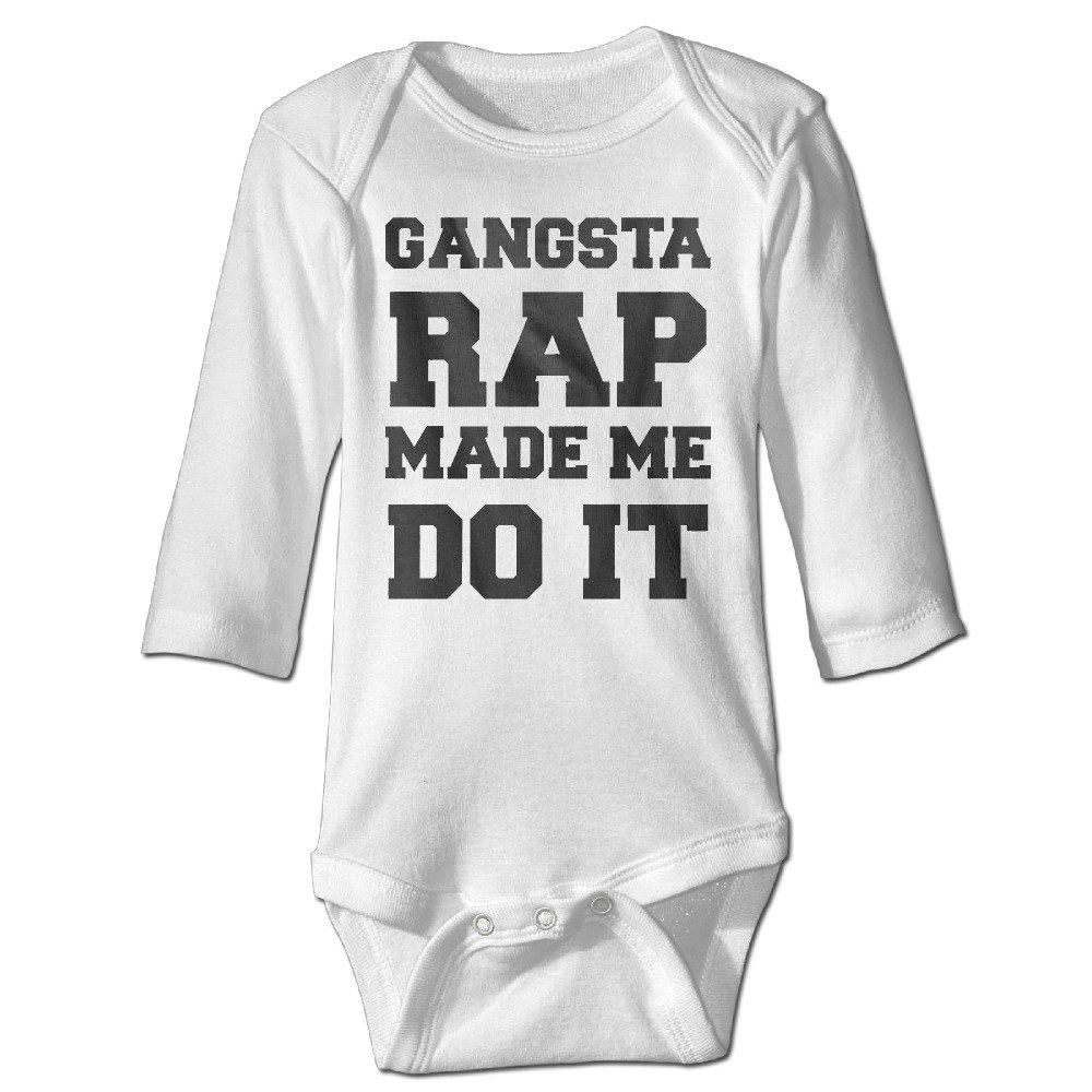 Amazon Com Gangsta Rap Made Me Do It Instagram Fashion Baby Long