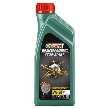 Castrol Aceite de Motor Magnatec Stop-Start 5W-30 C3, de 1 litro: Amazon.es: Coche y moto