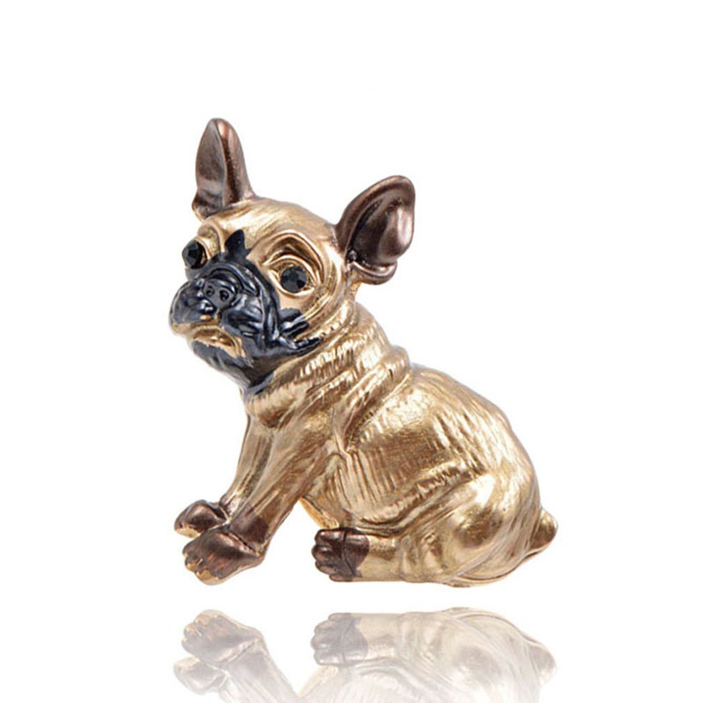 Cute Small Dog Brooches For Women And Kids Enamel Animal Brooch Pin Coat Dress Accessories Bijouterie Broches Gift dog by EERLLZ (Image #1)