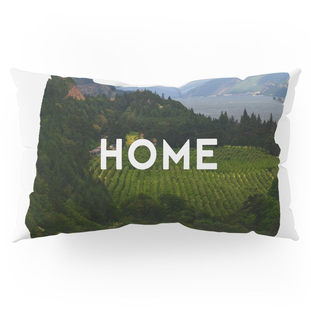 Society6 Oregon Home Pillow Sham King (20'' x 36'') Set of 2