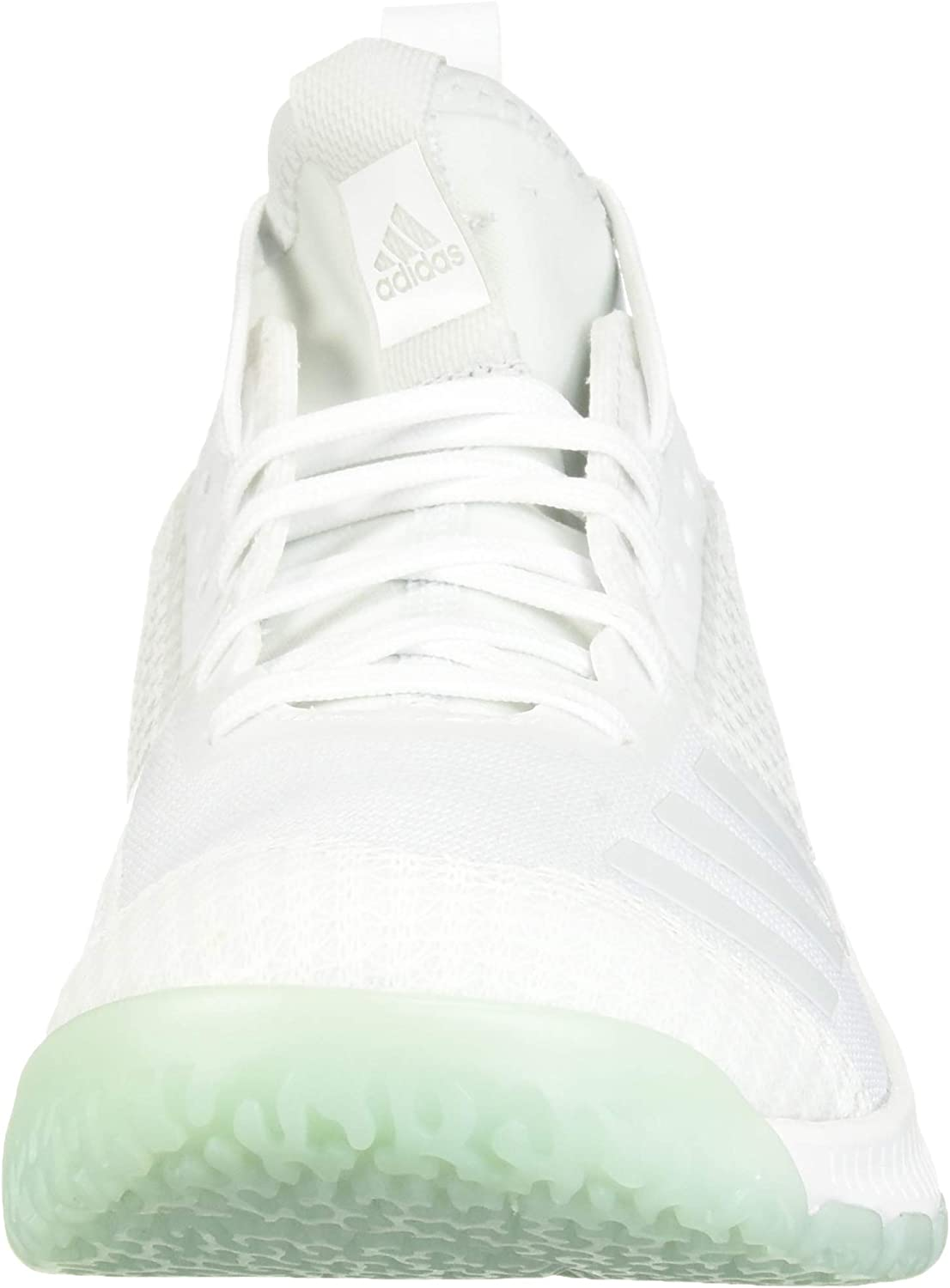 Adidas - Chaussures de volleyball Crazyflight X2 - Pour femme White Blue Tint Clear Mint