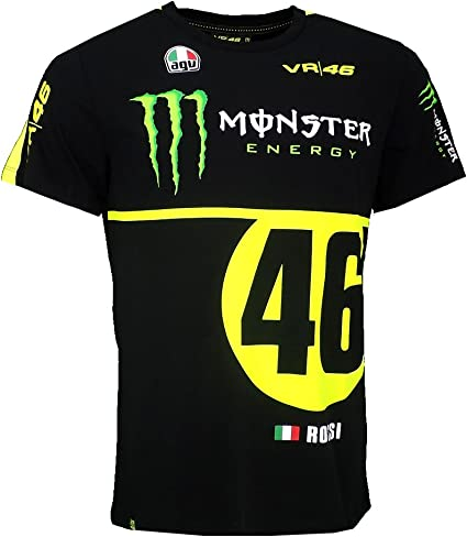 Camiseta de Replica de Valentino Rossi VR46 Moto GP Monza Rally ...