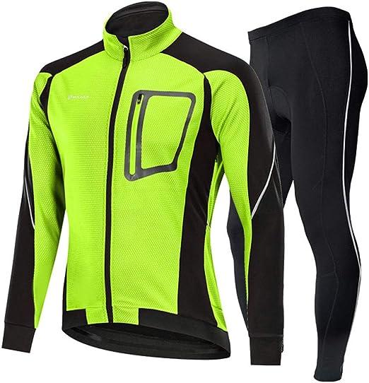 Jersey ciclismo masculino Chaqueta for hombre Invierno Impermeable ...