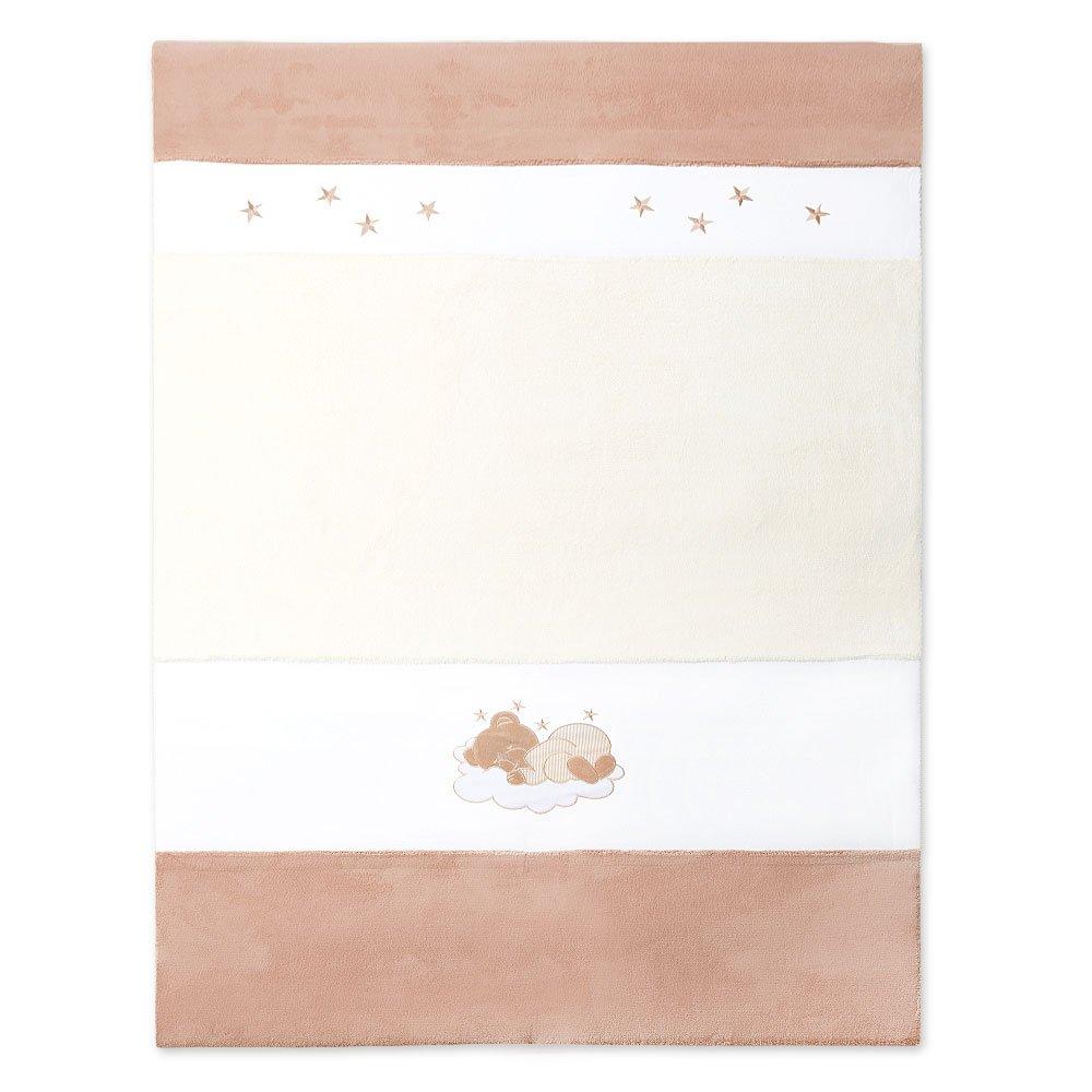 Baby- bzw. Kinderzimmer Teppich Wellsoft Baby Spielteppich in 2 Größen (beige, 175x120 cm)