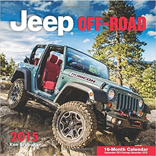 Téléchargements de livres complets gratuits Jeep Off-Road 2015: 16-Month Calendar September 2014 through December 2015 0760346755 en français PDF