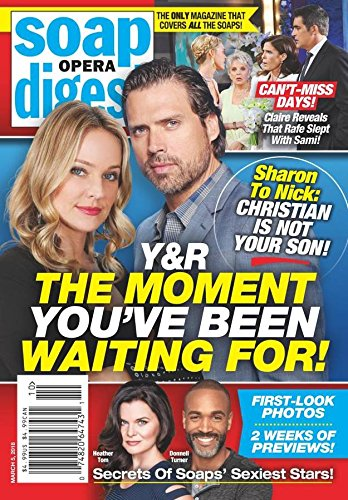 Soap Opera Digest - Fashion Mens Celeb