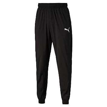 d6033b484 PUMA 838389 01 Ess Pantalon Homme Puma Black FR : S (Taille Fabricant : S