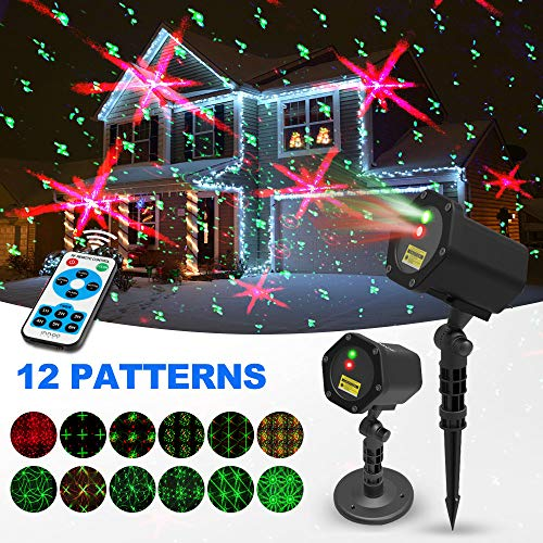 Christmas Light Outdoor Projector in US - 3