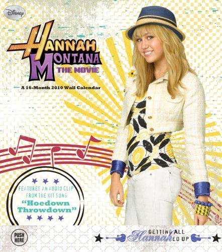 Hannah Montana Musical 2010 WALL CALENDAR