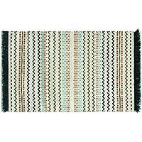 Bacova Guild 09024E Jessica Simpson Razzel Cotton Accent Rug, 27 x 45, Multicolor