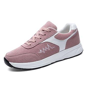 f1f1a30e Zapatillas de Deporte para Mujeres Zapatos Casuales 2018 Primavera, Verano, otoño  Zapatos Deportivos para Mujeres Zapatos para Correr de Estudiante Cuero ...