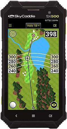 Skycaddie Sx500 Golf Gps 5 Zoll Entfernungsmesser Modell 2019 Sport Freizeit