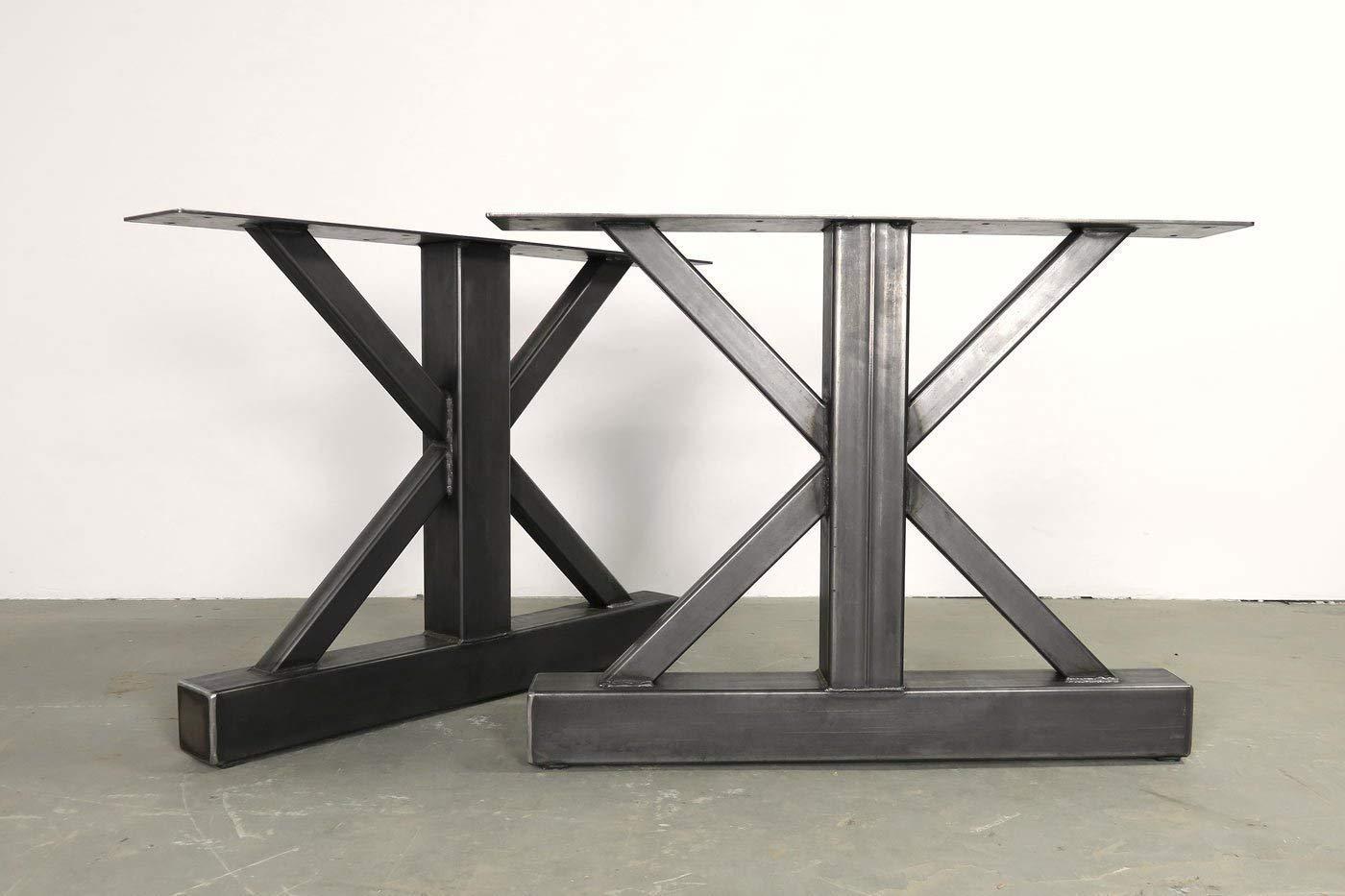 Metal Table Legs 28 Inch Table Base Dining Table Legs Custom Sizes Table Base Industrial Table Base Farmhouse Table Legs Handmade