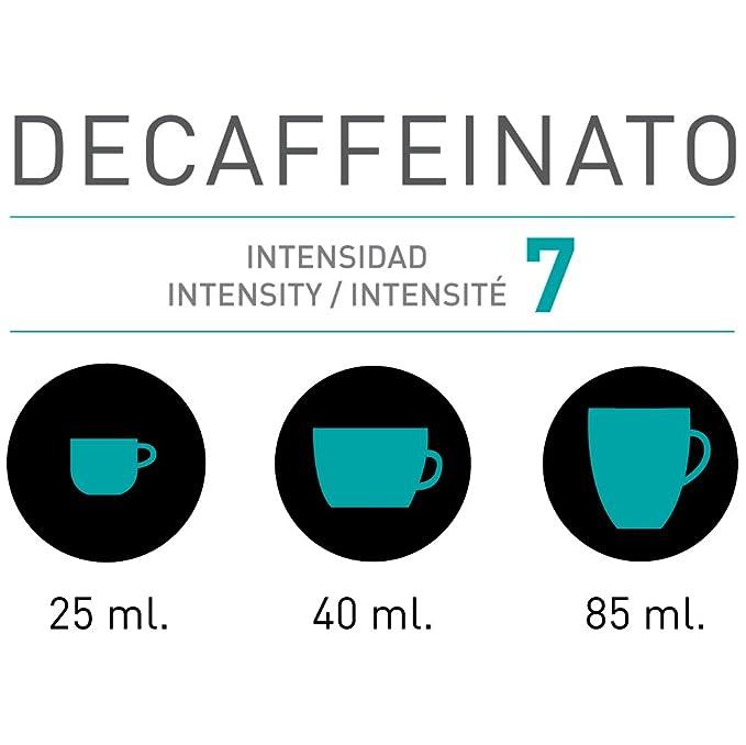 VIAGGIO ESPRESSO - 60 Cápsulas de Café Compatibles con Máquinas Nespresso - DECAFFEINATO: Amazon.es: Alimentación y bebidas