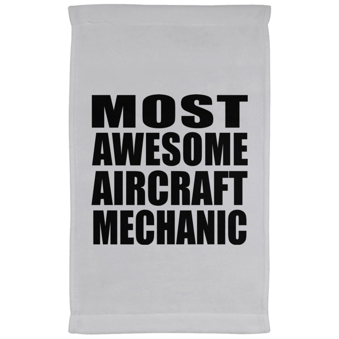 Designsify Most Awesome Aircraft Mechanic - Kitchen Towel, Microfiber Velour Towel, Best Gift for Birthday, Anniversary, Easter, Valentine's Mother's Father's Day