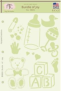 amazon com delta creative stencil mania stencil 7 by 10 inch
