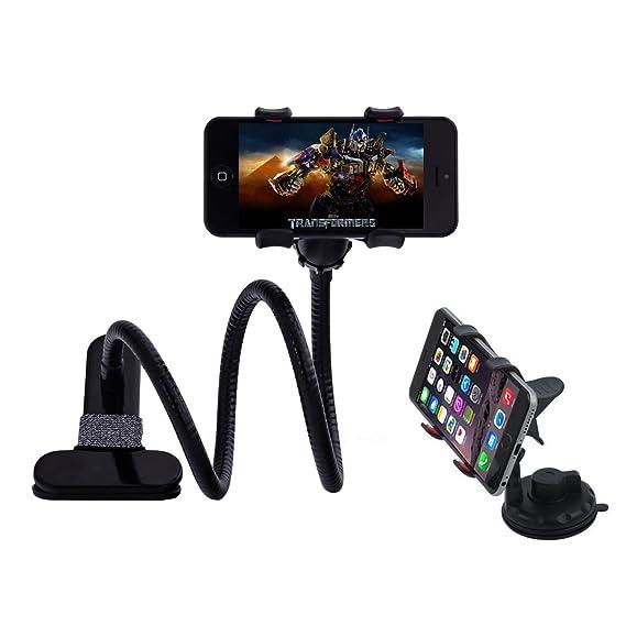 Amazon.com: Car Smartphone Mount and Gooseneck Phone Holder with ...