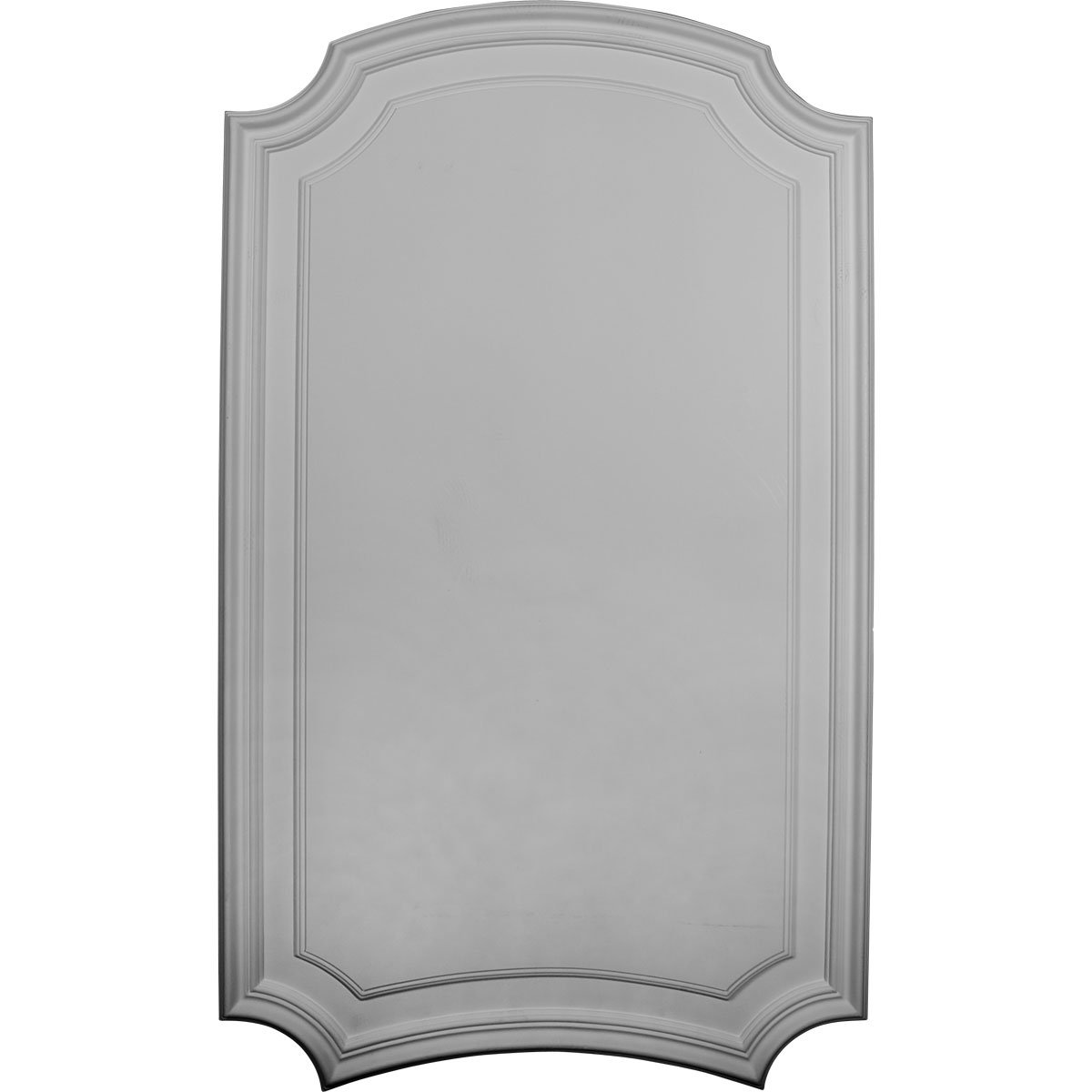 Ekena Millwork PNL22X36LE-2-CASE-2 21 5/8 inch W x 36 3/8 inch H x 5/8 inch P Legacy Deluxe Arch Wall/Door Panel (2-Pack),