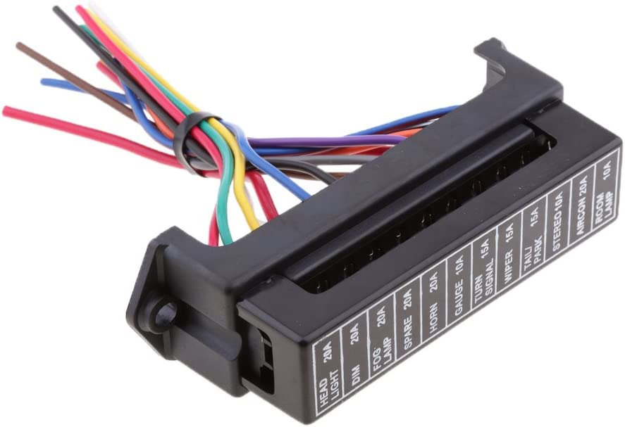 Fydun Kippschalter Auto DC 12V-24V Blaue LED Dual USB Ladegerät Carling ARB Wipp