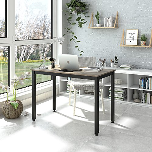 DEVAISE 42'' Computer Desk Sturdy Office Meeting Desk Writing Desk, Black by DEVAISE