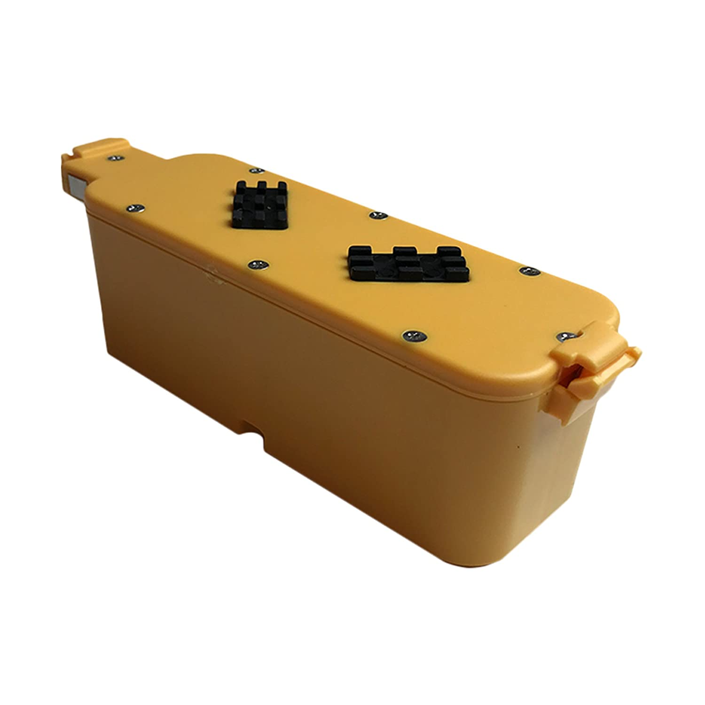 Think CrucialのiRobot 14.4V 2500mAh用交換バッテリー Dirt Dog Roomba 400 Discovery&Create パーツ番号17373互換 長時間&充電可能 B01B5BEPHQ