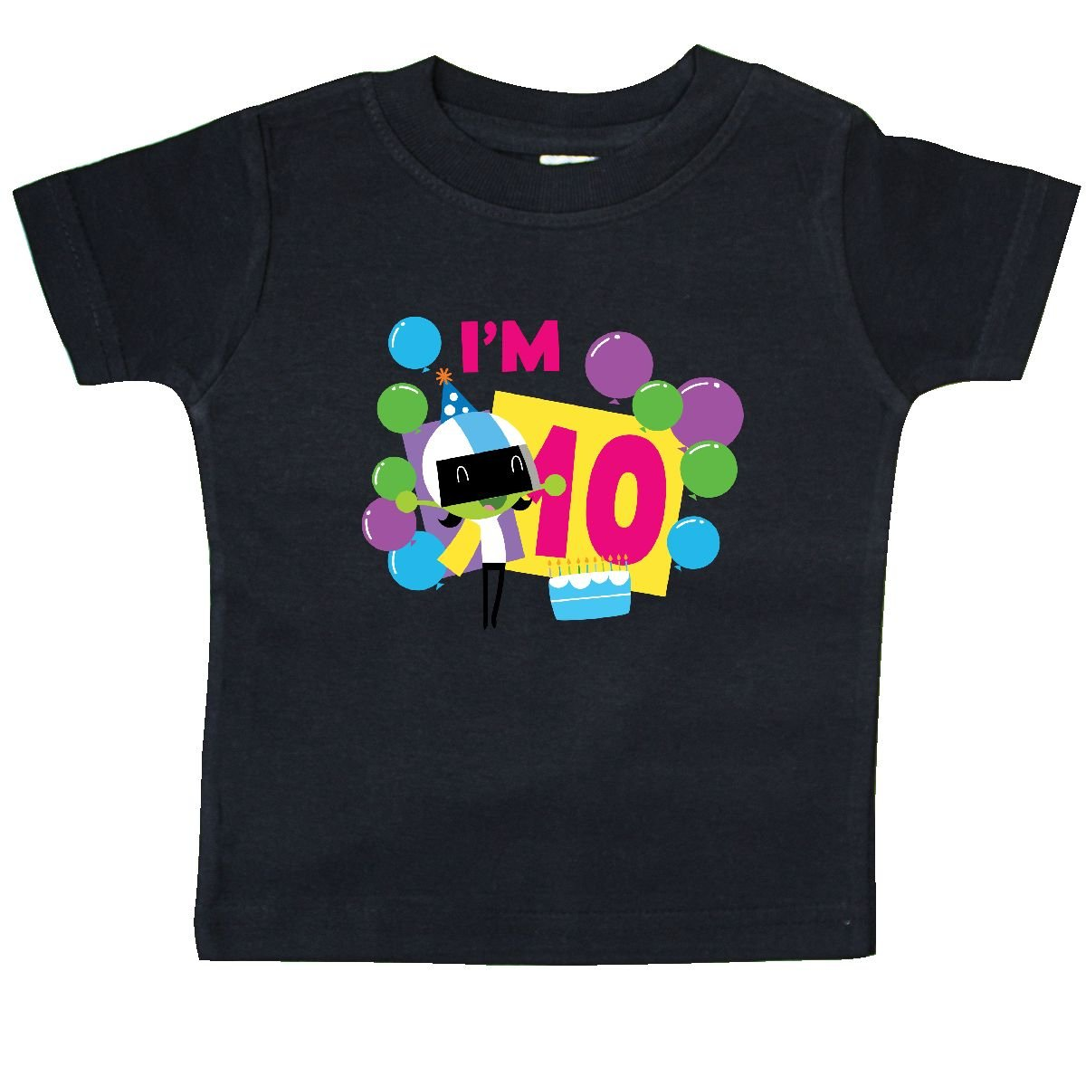 PBS Kids inktastic Im 10 with Dee and Balloons Baby T-Shirt